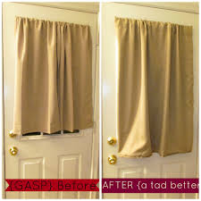 Nicole Miller Home Two Curtain Panels by Oh Scrap That Diy Door Curtain