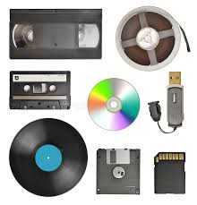 Download Storage Devices Stock Image Of Computer Evolution
