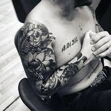 Fish Tattoo Sleeve For Men