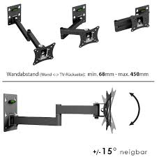 support tv mural universel ricoo support mural ecran meuble tv mural orientable inclinable