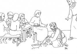 1000 Images About Bible Nt The Last Supper On Pinterest Inside Jesus Washes Disciples