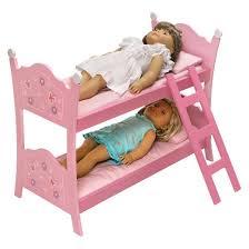 Badger Basket Blossoms & Butterflies Doll Bunk Beds with Ladder