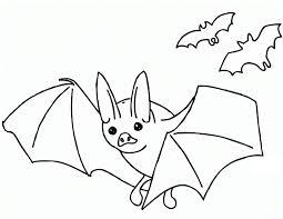 Bat Coloring Pages Printable