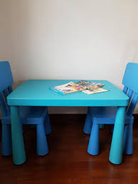Can Deliver* Ikea Mammut Table + 2 Chairs, Furniture, Tables ... Monde 2 Chair Ding Set Blue Cushion New Bargains On Modus Round Yosemite 5 Piece Chair Table Chairs Aqua Tot Tutors Kids Tables Tc657 Room And Fniture Originals Charmaine Ii Extendable Marble 14 Urunarr0179aquadingroomsets051jpg Moebel Design Kingswood Extending 4 Carousell Corinne Medallion With Stonewash Wood Turquoise Chairs Farmhouse Table Turquoise Aqua