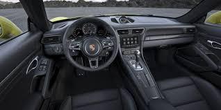 2017 Porsche 911 Turbo interior Indian Autos blog