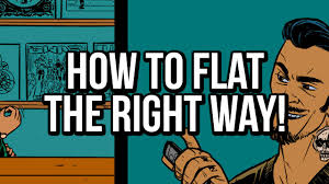 How To Flat Comics Properly A Flatting Tutorial For Photoshop Used In Digital Comic Book Coloring
