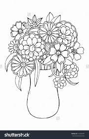 Dessin De Fleurs A Imprimer