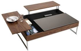 Contemporary And Functional Coffee Table With Storage Functional