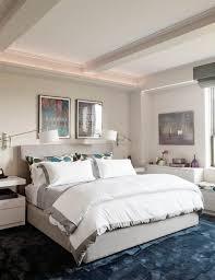 schlafzimmer mit blauem teppich schlafzimmerfarben blaue