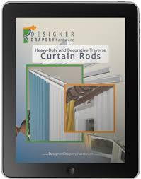 Decorative Double Traverse Curtain Rods by Heavy Duty Curtain Rod Guide Decorative Traverse Drapery Rods