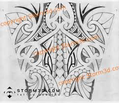 Forearm Tribal Tattoo Design In Maori Style Sketch Pencil Of A