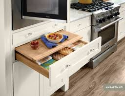 Lily Ann Cabinets Lazy Susan Assembly by Kitchen With Kraftmaid Cabinetry Slab Veneer Maple In Dove White