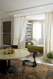 séparation de pièce avec rideaux mlc design décoration pour