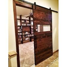 Sliding Doors - Grain Designs Amazoncom Hahaemall 8ft96 Fashionable Farmhouse Interior Bds01 Powder Coated Steel Modern Barn Wood Sliding Fascating Single Rustic Doors For Kitchens Kitchen Decor With Black Stool And Ana White Grandy Door Console Diy Projects Pallet 5 Steps Salvaged Ideas Idea Closet The Home Depot Epbot Make Your Own Cheap