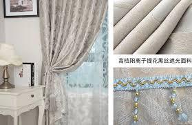 beige vorhänge blackout vorhang verarbeitung haken öse stange tasche stanzen fenster vorhang für wohnzimmer schlafzimmer