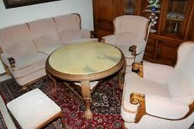 details zu wohnzimmer möbel set wohnzimmer schrank sitzgarnitur sessel tisch hocker
