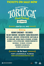 Kenny Chesney Eric Church Gary Allan More To Rock The Tortuga Music Festival