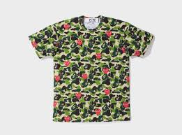 a bathing ape x play comme des garcons the full collection