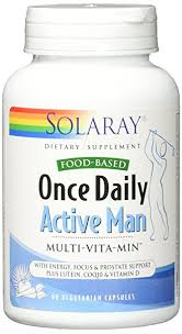 Amazon Solaray ce Daily Active Man VCapsules 90 Count