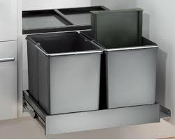 wesco mülleimer küche einbau ab 50 cm küchenschrank 3 fach mülltrennung 515417