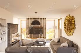 100 One Bedroom Interior Design Stock Illustration