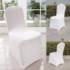 Details About White Polyester Spandex Banquet Wedding Party Chair  Covers,Different Choices Us 429 New Year Party Decorations Santa Hat Chair Covers Cover Chairs Tables Chafing Dish And Garden Krush Linen Detroit Mi Equipment Rental Wedding Party Chair Covers Cheap Chicago 1 Rentals Of Chicago 30pcslot Organza 18 X 275cm Style Universal Cover For Sale Made In China Cute Children Cartoon Pattern Frozen Baby Birthday