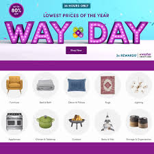 It's WAY DAY – Free Shipping And Awesome Deals On Everything ... 20 Discount Off Tread Depot Free Shipping Code Couponswindow Couponsw Twitter 25 Off Nutrichef Promo Codes Top 20 Coupons Promocodewatch Wayfair Coupon Code Any Order 2019 Wayfarers Papa Johns Best Deals Pizza Archives For Your Family Calamo Adidas Canada Coupon Walgreens Promo And Codes Ne January Up To 75