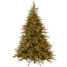 Balsam Christmas Trees by Multiple Colors Pre Lit Christmas Trees Artificial Christmas
