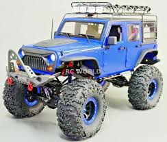 100 4 Door Jeep Truck RC Wrangler Hard Body Chassis