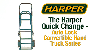 Harper Hand Trucks Quick Changing Instructions Video | WebstaurantStore