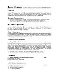 Resume For Career Change With No Experience