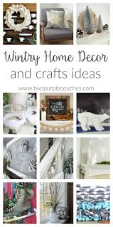 Wintry Home Decor For After Christmas Transition From Holiday To Winter With These Simple DIY Decorating And Crafts Ideas Feature Snow Pinecones