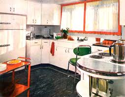 SMITH Design Classic Timeless Vintage 1950 Kitchen Retro Decor 1950s