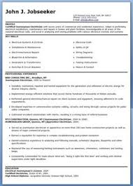 Automotive Mechanic Resume Example Sample Examples Engineer Electrical Nankai Co