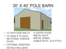 kitchen Pole barn garage prices Garage Inspiration for You
