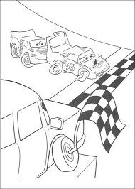 84 Cars Pixar Coloring Pages