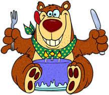 bear on his birthday