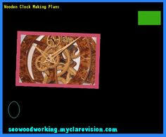 wooden clock free plans 102605 woodworking plans and projects