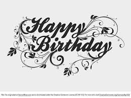 Happy Birthday Text · Happy Birthday Type