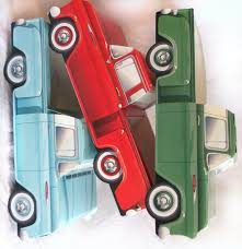 100 Trucks Paper 6 Green CLASSIC TRUCK Paper Food BoxVintage Car Etsy