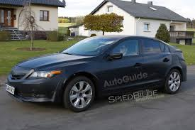 Civic Hatchback Mule Spied Wearing Acura Clothes  AutoGuide News