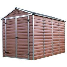 Keter Stronghold Shed Assembly by Buy Keter Apex Plastic Beige U0026 Brown Garden Shed 8 X 6ft At