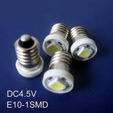 high quality dc4 5v e10 led signal light e10 led bulb l light