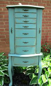 Hand Painted And Distressed Jewelry Armoire In Robin Egg Blue :0 ... 74 Best Handpainted Fniture Images On Pinterest Painted Best 25 Wardrobe Ideas Diy Interior French Provincial Armoire Abolishrmcom Vintage And Antique Fniture In Nyc At Abc Home Powell Masterpiece Hand Jewelry Armoire 582314 Silver Mirrored Full Length Mirror 21 Painted Tibetan Cabinet Abcs Of Decorating Barn Armoires Update Kitchen Sold Hooker Closet Or Eertainment Center Satin Black