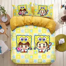 Spongebob Toddler Bedding Set by Spongebob Bed Sheets 9483