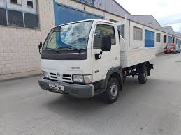 100 Truck Flatbed NISSAN Cabstar 2810 RUEDA SIMPLE Flatbed Truck