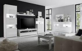 wohnzimmer set wohnwand anbauwand 461cm weiß weiß hochglanz neu