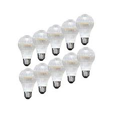 lighting science durabulb 10 pack 60w led bulbs soft white