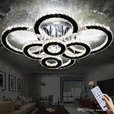 natürliches licht led kronleuchter k9 kristall design 3 ring