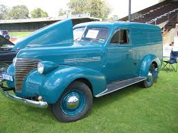 100 Panel Trucks 1939 Chevrolet Van Virtual Car Show Pinterest Chevrolet